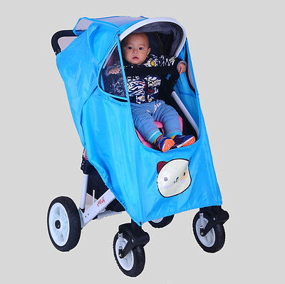 New Stroller Universal Dust Insect Wind Storm Rain Cover For Baby Pram Stroller