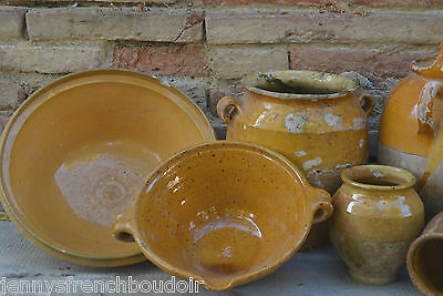 Antique pottery from South west France