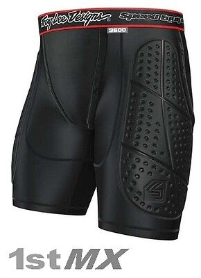 Troy Lee Designs Shock Doctor LPS3600 Impact Shorts Small