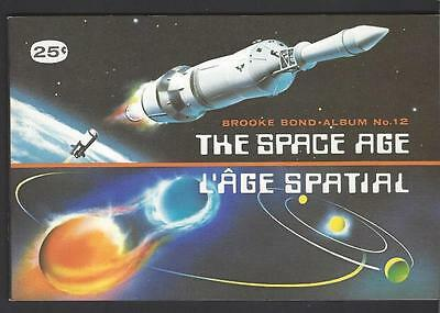 Brooke Bond - The Space Age - Canadian Issue - Empty Album