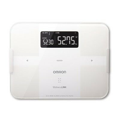 NEW OMRON Body Composition Total Body Scan White HBF-252F-W .