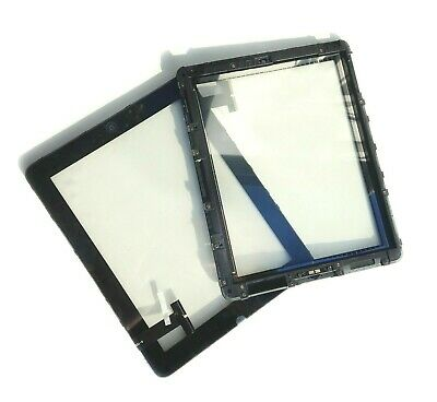 iPad 1 First Generation Front Glass Panel Digitizer Touch Screen and FRAME