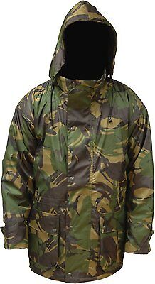 Camouflage Breathable WATERPROOF JACKET DPM Camo (Size XL ) Tough Rip-Stop