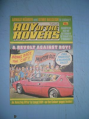 Roy of the Rovers issue dated March 5 1983
