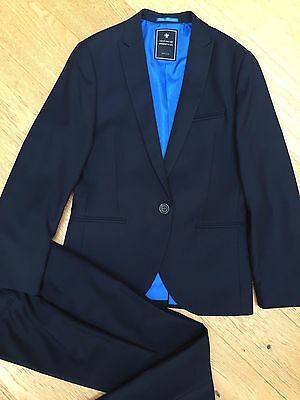 Boys NEXT 2 piece suit. Navy. Age 11 years. Immaculate Condition.