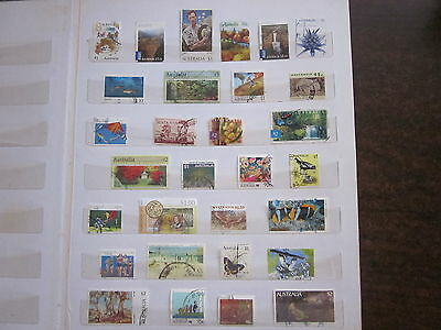 Bulk Lot 30 x Australian Used Stamps HIGH VALUE to $5 Decimals No Duplicates