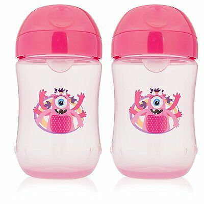 Dr. Brown's Soft-spout Toddler Girls Cup, Pink