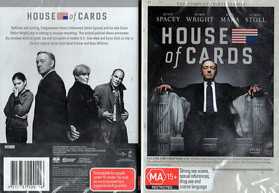 House of Cards Complete First Season 1 - 4 DISC DVD Set - NEW & SEALED