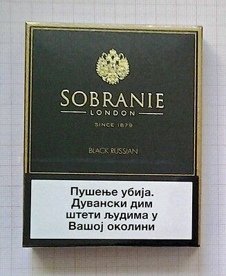 Sobranie Black Russian  From Serbia For Collections - New,not Open