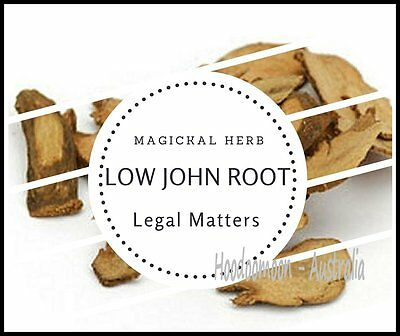 LOW JOHN THE CONQUEROR ROOT HERB 10g - Spells / Ritual / HooDoo