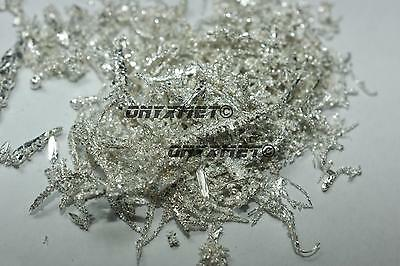 Silver crystals 99,99% - 1g metal element Metall Silber Zilver Argento Plata Ag