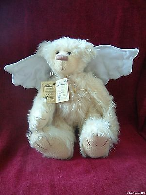 """Grisly artists teddy bear Lilly Limited edition Mohair German 12"""""""