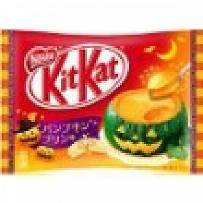 Nestle Kit Kat Chocolate Pumpukin Pudding Flavor 13 Bar Limited Flavor F/S Japan