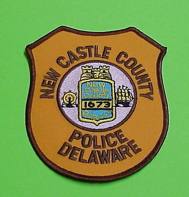 New Castle County  Delaware  1673  De   Police Patch   Free Shipping!!!