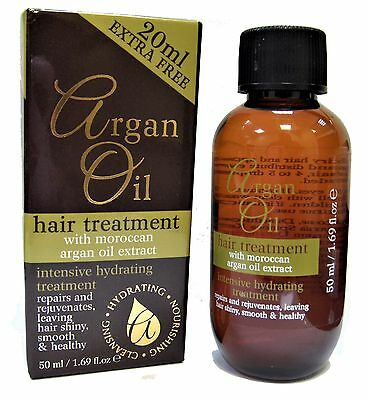 Argan Oil Hydrating Hair Treatment With Moroccan Argan Oil Extract 50ml