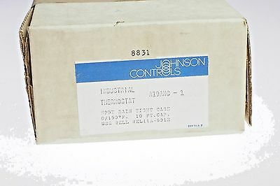 Johnson Controls Industrial Thermostat  A19ANC-1 NEW  Free Shipping