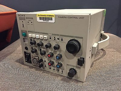 SONY CCU-355 CAMERA CONTROL UNIT FOR SONY DXC CAMERAS - Used Component