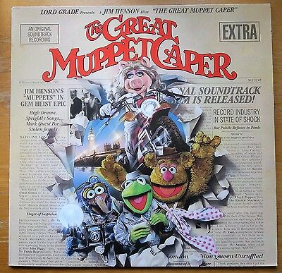 Vinyl Lp - The Muppets - The Great Muppet Caper - 1981 (Uk)