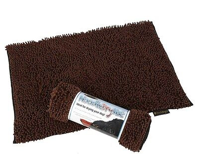 Scruffs Noodle Dry Mat/Rug for Dogs extremely absorbent - Chocolate Brown