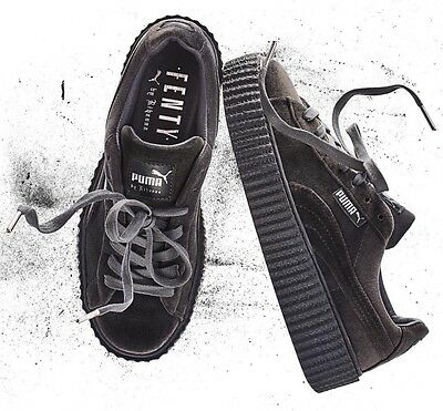 Rihanna Fenty x Puma Creepers Velvet Grey Size 5-10 LIMITED SHIPPING NOW