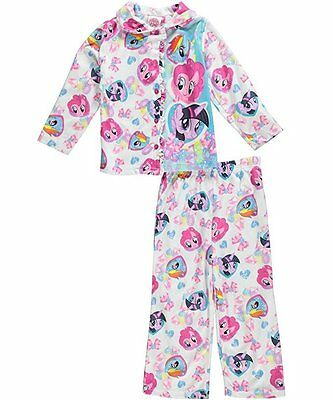 "My Little Pony Little Girls' Toddler ""Magic Gems"" 2-Piece Pajamas - pink/mult..."
