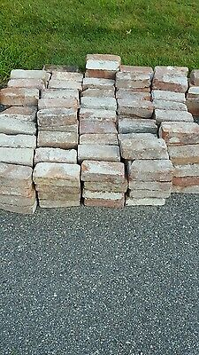 LOCAL P/U NJ 227 Antique reclaimed bricks from NYC Brownstone/Limestone Building