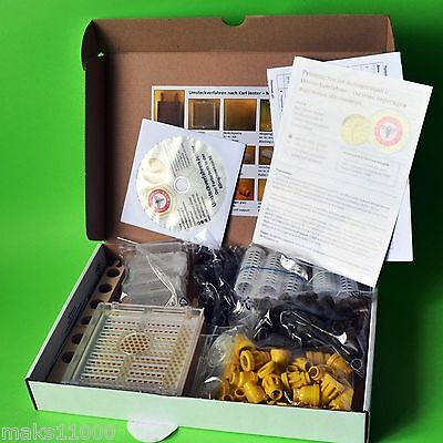 Karl Jenter Quick Start Device Bee queen larvae formation rearing Beekeeping Set