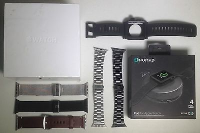 APPLE WATCH 42MM Space Black Milanese MMG22LL/A With Bonus