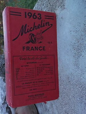 Guide Rouge Michelin 1963