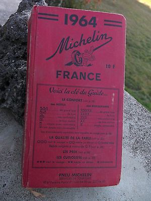 Guide Rouge Michelin 1964