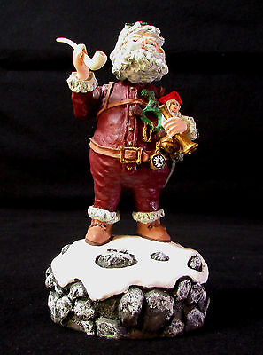 """Duncan Royale History Of Santa Claus NAST Musical Figurine 1st Event Edition 7"""""""