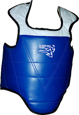 Body Armour Martial Arts Chest Protector Guard Muay Thai Teakwondo Karate Boxing