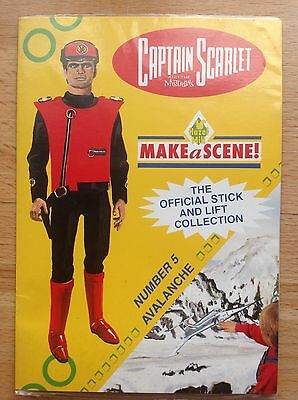 Captain Scarlet And The Mysterons Hazel Mill MAKEaSCENE! Number 5. 1993