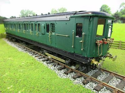 7mm FINESCALE O GAUGE KIT BUILT 2 CAR SR EMU '9888' '9977'
