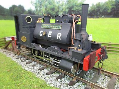 7mm FINESCALE O GAUGE KIT BUILT CER 0-4-0T '230' 'KINGS WHARF'