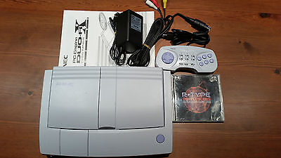 Console Duo-Rx Nec Hu-Card,super Cdrom + Games R-Type Complete Edition