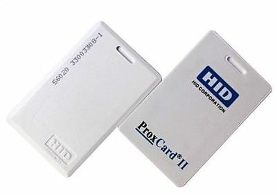 NEW 50-Pack HID 1326  ProxCard II Access Control Cards 26 Bit 125kHz 1326LSSMV