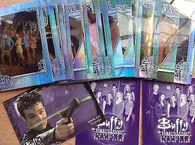 Buffy The Vampire Slayer Evolution Collection Of Trading Cards Inkworks 2002.