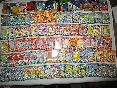 NM-MINT Complete Topps Series 1 SET #1-76 Pokemon Cards. RED LOGO 90 cards total