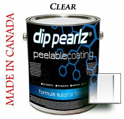 Dip Pearlz Peelable Rubber Paint Coating - Clear Matte sprayable Plasti Dip