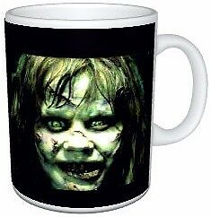 The Exorcist Movie Regan Demon Face Mug
