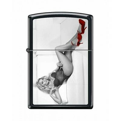 Zippo Very Rare Red Shoe Girl Series Iv #11 New