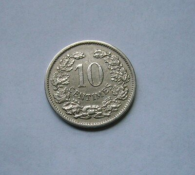 Luxembourg  10 Centimes 1901, Ruler: Adolphe