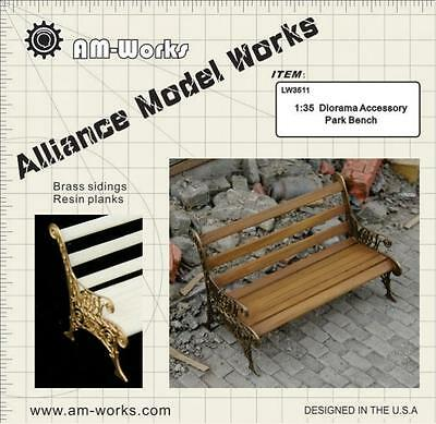 Alliance Modelworks LW35004 Park bench 1/35