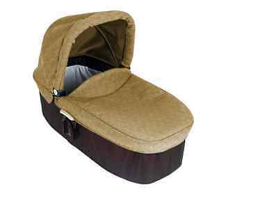 Graco Evo Khaki Baby Carrycot From Birth Collapsible Carrycot With Apron