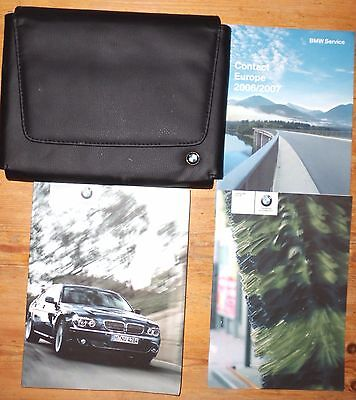 Bmw 7 Series Owners Handbook And Wallet 2005-2006-2007-2008  (Ref 3377)