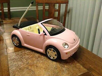 Barbie Remote Control Pink VW Beetle No Remote