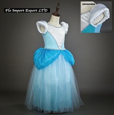 Cenerentola Vestito Carnevale Maschera Cinderella Dress up Costume Dress 567019
