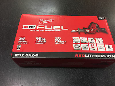 Milwaukee - M12 FUEL - HACKZALL Reciprocating Saw - M12CHZ0 - SKIN ONLY