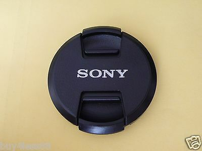 77mm DSLRs Camera lens Center Pinch Snap Cap Dust Cover for Sony Camera  New